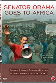 Senator Obama Goes to Africa Poster