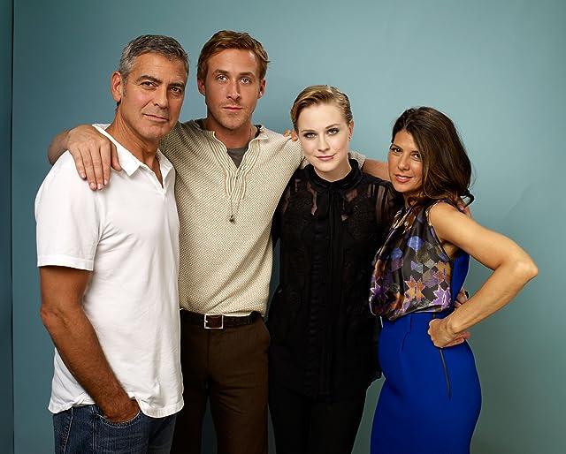 George Clooney, Marisa Tomei, Ryan Gosling and Evan Rachel Wood