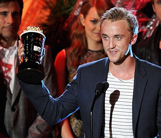 Tom Felton at an event for 2011 MTV Movie Awards (2011)