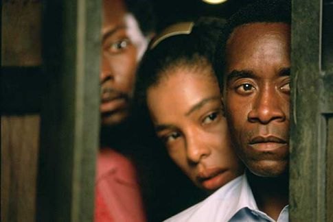 Don Cheadle and Sophie Okonedo in Hotel Rwanda (2004)