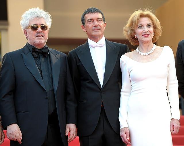 Antonio Banderas, Pedro Almodóvar, and Marisa Paredes at The Skin I Live In (2011)