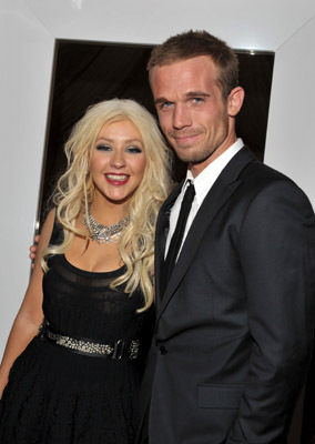 Christina Aguilera and Cam Gigandet at Burlesque (2010)