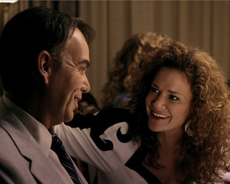 Billy Bob Thornton and Katherine Willis in Friday Night Lights (2004)