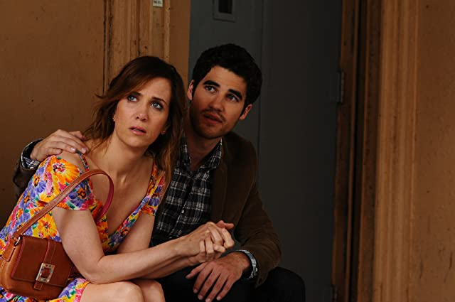 Kristen Wiig and Darren Criss in Girl Most Likely (2012)