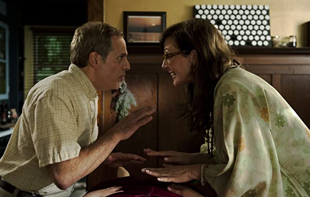 Allison Janney and Josh Pais in Touchy Feely (2013)