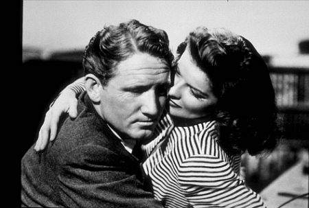 722-83 Katharine Hepburn and Spencer Tracy in
