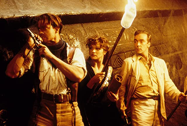 Brendan Fraser, John Hannah, and Rachel Weisz in The Mummy (1999)