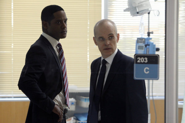 Blair Underwood and Zeljko Ivanek in The Event (2010)