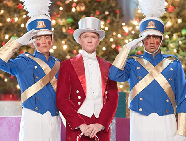 Neil Patrick Harris, John Cho, and Kal Penn in A Very Harold & Kumar 3D Christmas (2011)