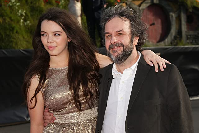 Peter Jackson and Katie Jackson at The Hobbit: An Unexpected Journey (2012)