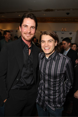 Christian Bale and Emile Hirsch