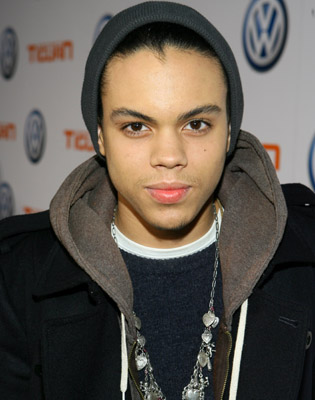 evan ross and his wife