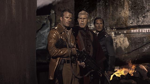 Ron Perlman, Thomas Jane, and Benno Fürmann in Mutant Chronicles (2008)