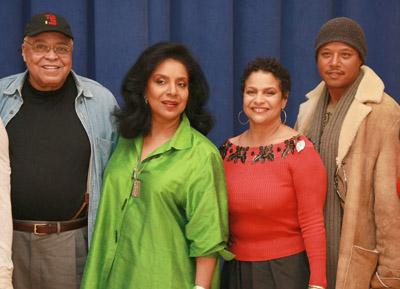 James Earl Jones, Debbie Allen, Terrence Howard, and Phylicia Rashad