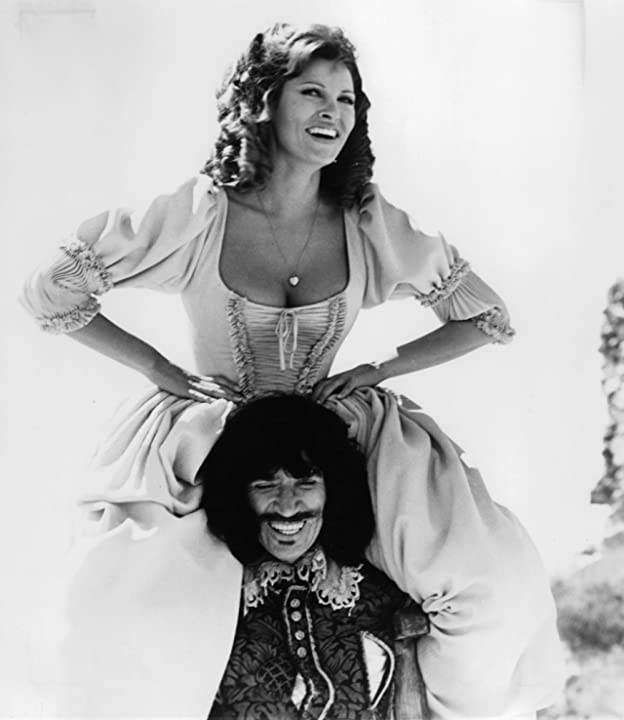 Raquel Welch and Frank Finlay in The Four Musketeers: Milady's Revenge (1974)