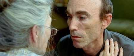 Phyllis Somerville and Jackie Earle Haley in Todd Field's