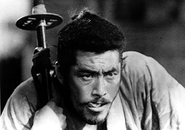 Toshirô Mifune in Seven Samurai (1954)