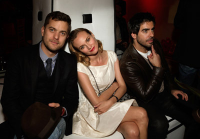 Joshua Jackson, Eli Roth, and Diane Kruger at an event for Inglourious Basterds (2009)