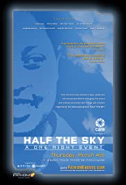 Half the Sky: A One Night Event Poster