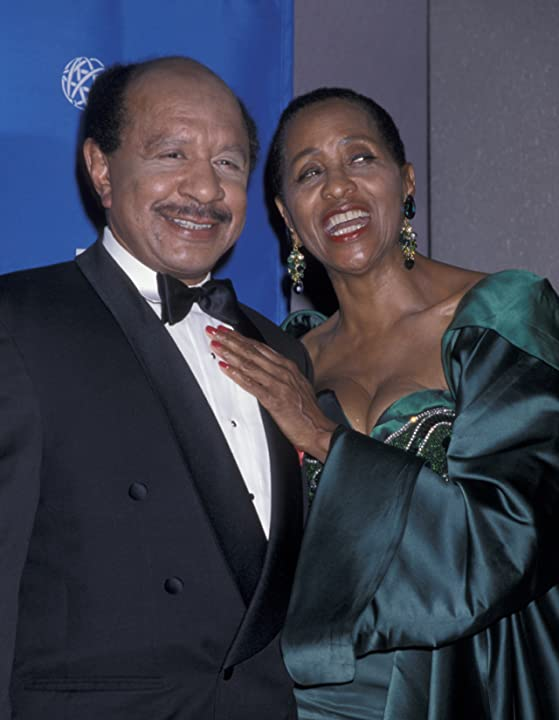 Marla Gibbs and Sherman Hemsley at The Jeffersons (1975)