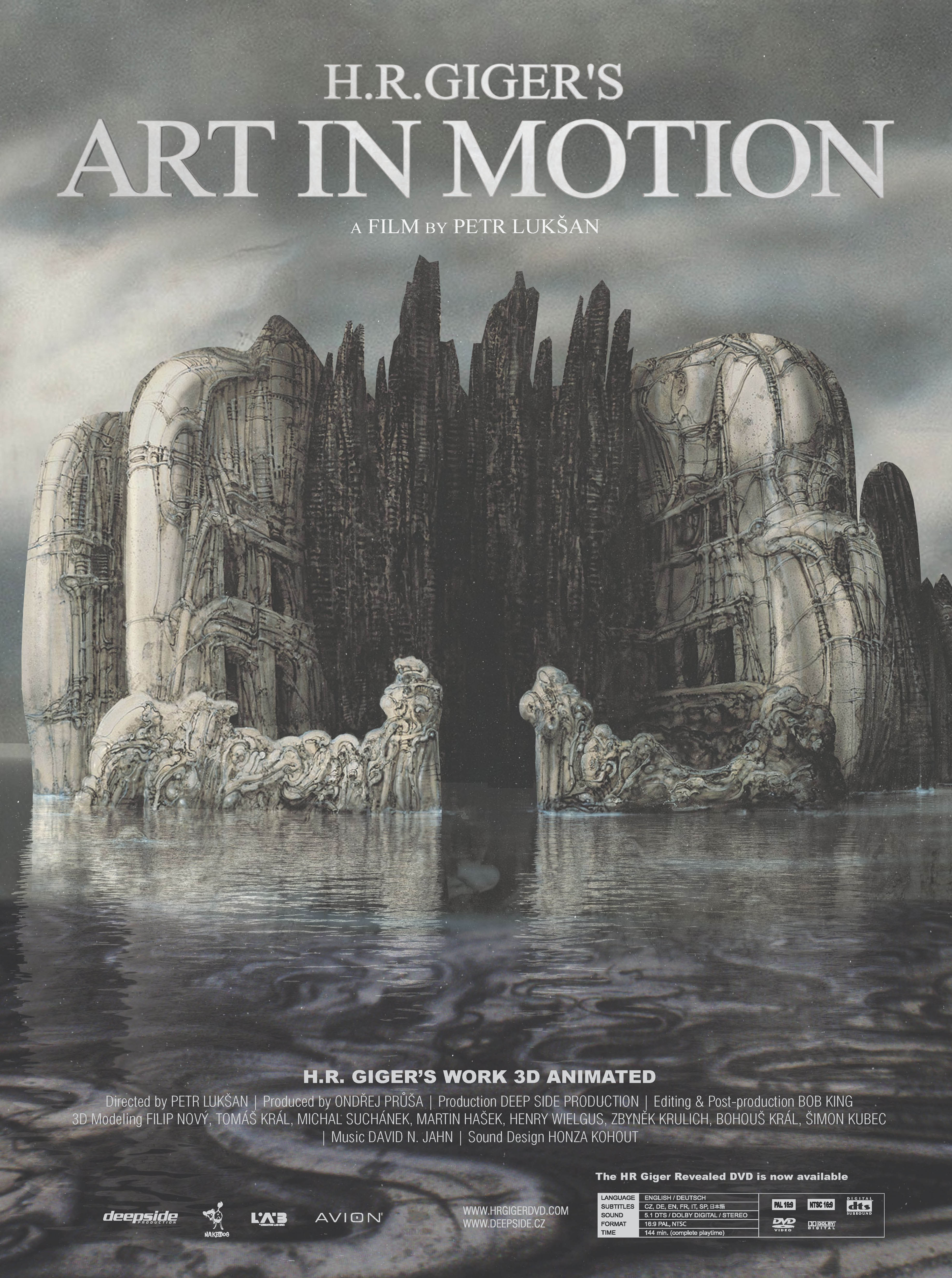 Image H.R. Giger's Art in Motion Watch Full Movie Free Online