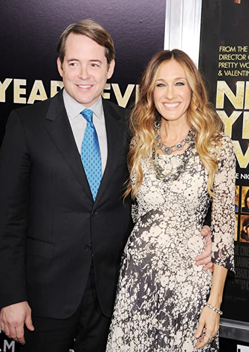 Matthew Broderick and Sarah Jessica Parker at New Year's Eve (2011)