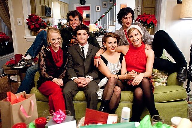 Logan Lerman, Emma Watson, Mae Whitman, Ezra Miller, Adam Hagenbuch, and Erin Wilhelmi in The Perks of Being a Wallflower (2012)