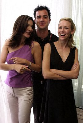 Laura Harring, Justin Theroux, and Naomi Watts at an event for Mulholland Dr. (2001)
