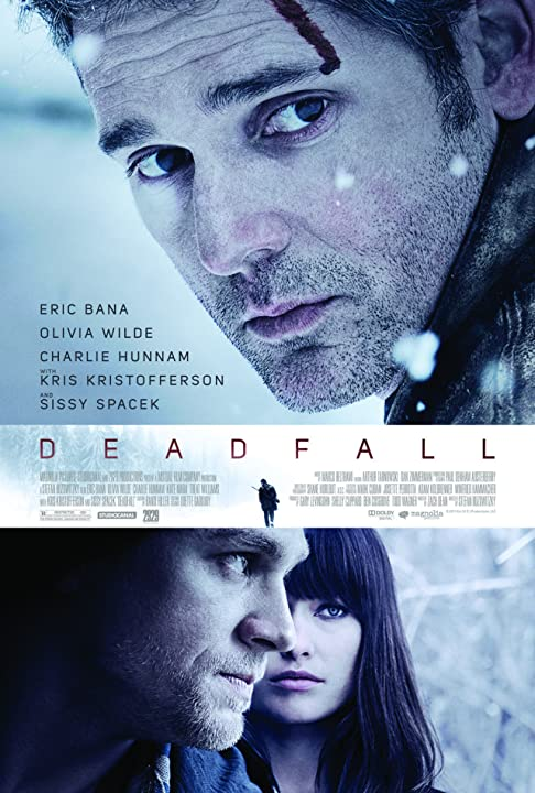 Eric Bana, Charlie Hunnam, and Olivia Wilde in Deadfall (2012)