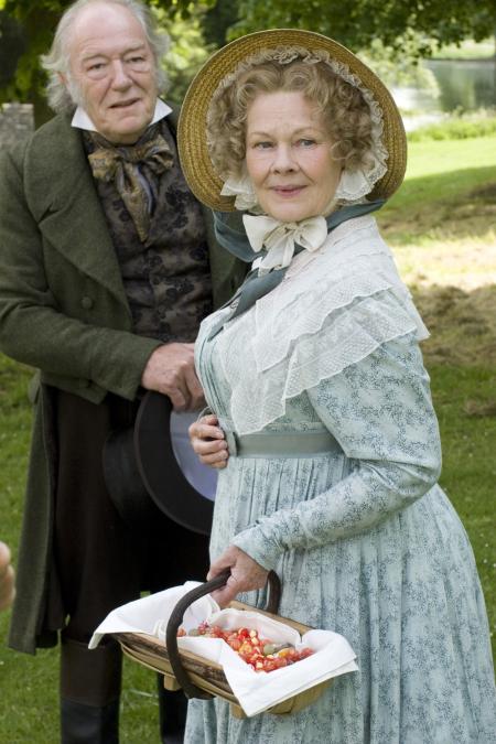 Judi Dench and Michael Gambon in Cranford (2007)