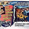 Lex Barker, Mara Corday, and Stephen McNally in The Man from Bitter Ridge (1955)