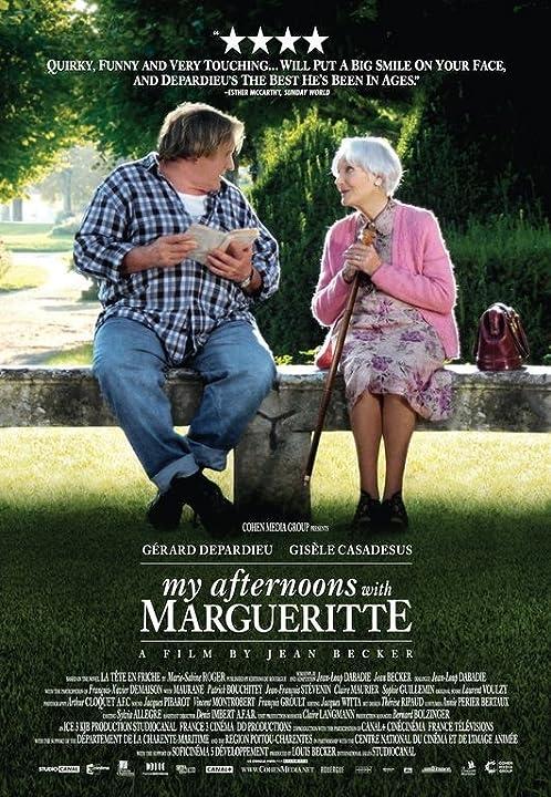 Gérard Depardieu and Gisèle Casadesus in La tête en friche (2010)
