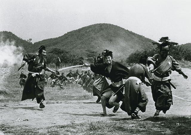 Mikijirô Hira, Isamu Nagato, and Tetsurô Tanba in Three Outlaw Samurai (1964)
