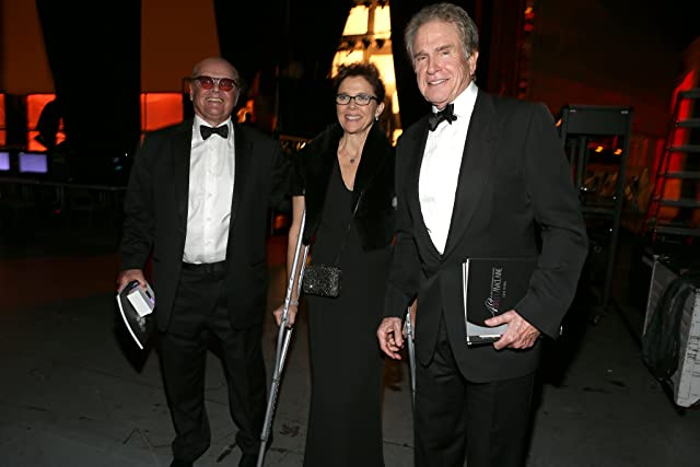 Jack Nicholson, Warren Beatty, and Annette Bening