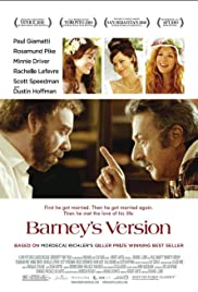 Barney's Version (2010) Poster - Movie Forum, Cast, Reviews