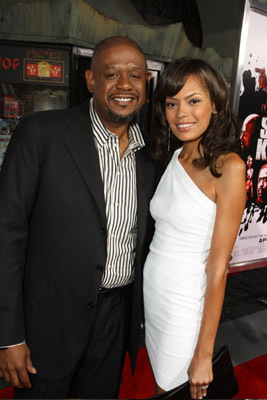 Forest Whitaker and Keisha Whitaker at Street Kings (2008)