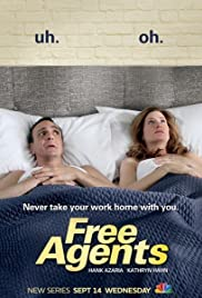 Free Agents Poster - TV Show Forum, Cast, Reviews