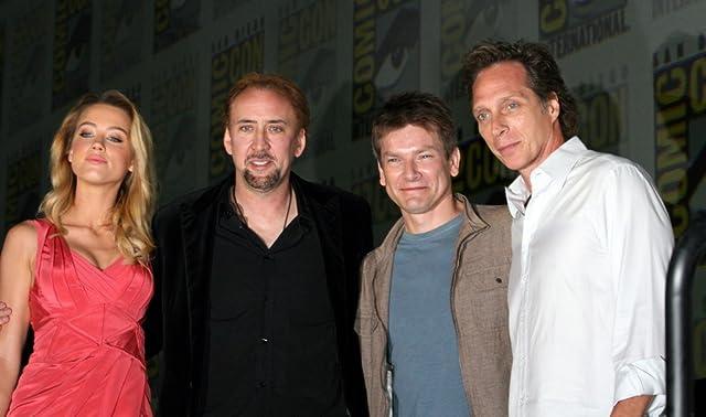 Nicolas Cage, William Fichtner, Patrick Lussier, and Amber Heard