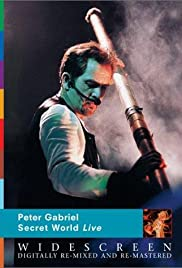 Peter Gabriel's Secret World Poster