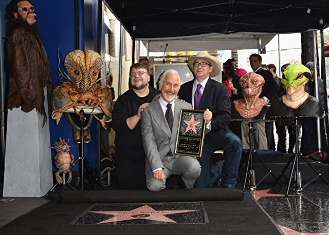 Rick Baker, Barry Sonnenfeld, and Guillermo del Toro