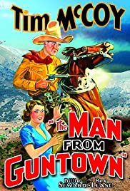 The Man from Guntown Poster