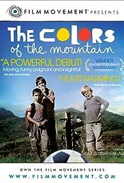 Los colores de la montaña Poster