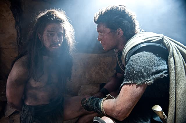Sam Worthington and Toby Kebbell in Wrath of the Titans (2012)
