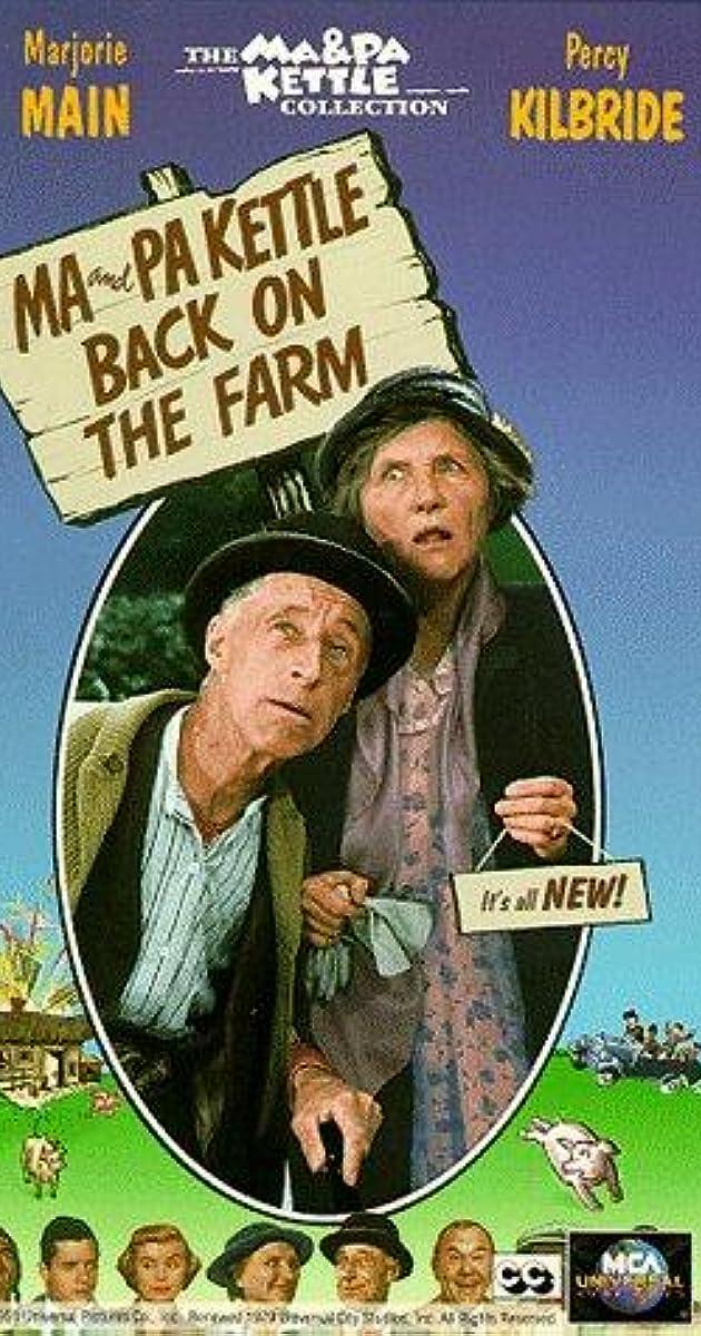 Ma And Pa Kettle ~ Ma and pa kettle back on the farm imdb