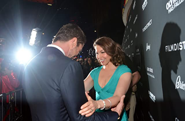Ashley Judd and Gerard Butler at an event for Olympus Has Fallen (2013)