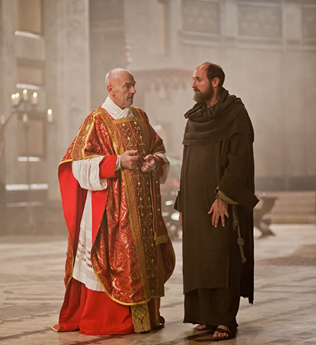 Colm Feore and Bosco Hogan in The Borgias (2011)