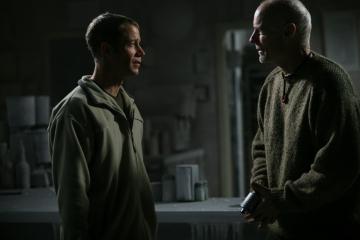 Matt Frewer and Colin Ferguson in Eureka (2006)
