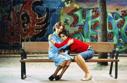 Penélope Cruz and Carmen Maura in Volver (2006)