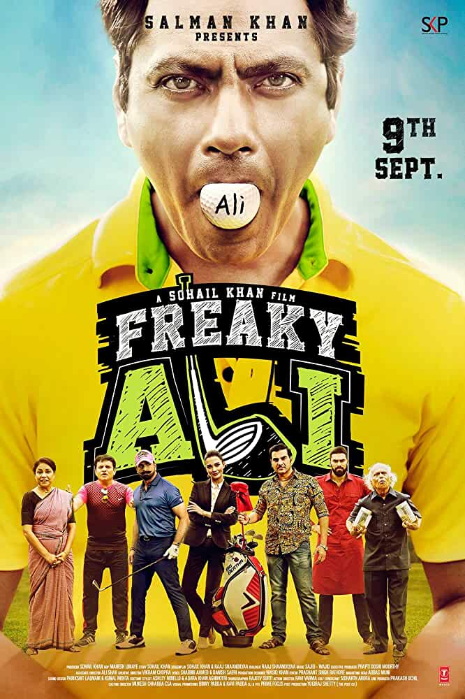 Poster Freaky Ali 2016 Full Hindi Movie Download HD 1080p Blu-ray