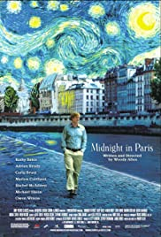 Midnight in Paris 2011 Poster